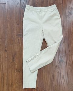 Chico's Tan Ankle Pant